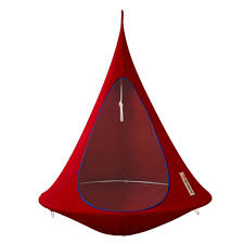 Hanging Tent by Cacoon Hammock Tent Single 1 Single Red 150x150cm Lefliving Com