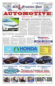 the san francisco post feb 27 2014 automotive supplemental