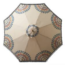 Southern Patio Umbrella by Patio Umbrellas For Summer We U0027re Seeing A Pattern L A At Home
