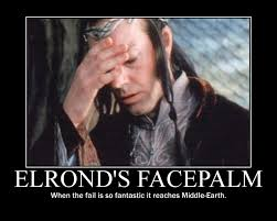 Face Palm Meme - elrond s facepalm physicists of the caribbean the facepalm