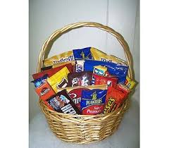junk food basket gift baskets delivery longview tx the flower peddler inc