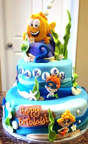 Bubble Guppies Decorations Bubble Guppies Birthday Party Nickelodeon Parents Stunning Cake