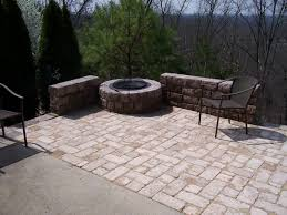 Backyard Patios With Fire Pits Patio Fire Pit Quality Creative Landscaping Llc