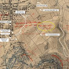 Gettysburg Map 09 July 2015 See You In The Field
