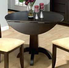 round dining table set with leaf u2013 zagons co