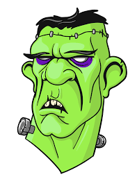 free halloween clipart skeletons frankenstein zombies clipartix
