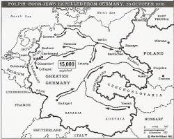 Map Of Europe 1938 by From Zbaszyn To Manila By Bonnie Harris 2005