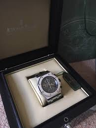 ap royal oak offshore chrono u0027grey theme u0027 watch 42mm in