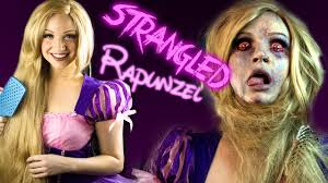 strangled rapunzel makeup tutorial glam u0026 gore disney princess