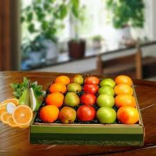 fruit gift boxes fresh fruitful affair gift box fruit gift basket arttowngifts