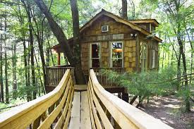 tree houses at the mohicans the ultimate getaway columbus
