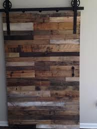 How To Make A Barn Door Track Pallet Doors Magnificent With Pallet Barn Door Naturally