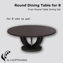 circle table that gets bigger sims 3 downloads round table