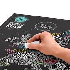 gourmet scratch map a culinary scratch map