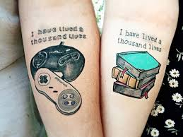 20 awesome matching tattoos only geek couples would get couple