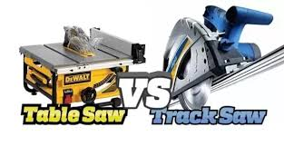 compound miter saw vs table saw what are the pros and cons of a track saw vs a table saw quora