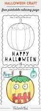 Halloween Themed Coloring Pages by Halloween Themed Free Printable Coloring Page