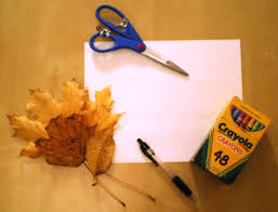 thanksgiving leaf place cards creative crafts for creative