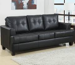 Ikea Leather Sofa Bed Extraordinary Brilliant Leather Sleeper Sofa Home Design Ideas