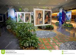 interior design ideas airport waiting room garden editorial