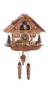 8 Day Cuckoo Clock Quartz Cuckoo Clock Black Forest House With Moving Wood Chopper