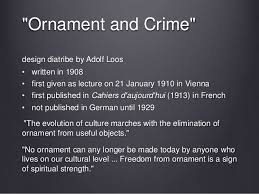 image gallery ornament and crime pdf