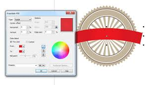 membuat logo kelas dengan photoshop gradasi warna kelas desain belajar desain grafis mudah