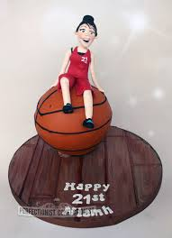 basketball cake topper the perfectionist confectionist niamh 21st birthday basketball cake