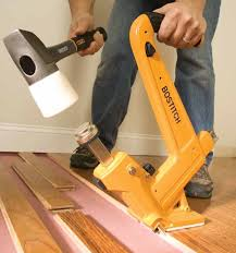how to install hardwood floors nail gun