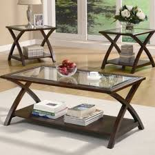 livingroom table sets glass coffee table sets you ll wayfair