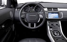 range rover sport dashboard land rover range rover evoque 2012 motor trend suv of the year