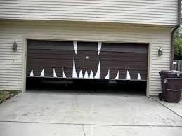 halloween garage door youtube