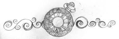 pocket watch tattoo design by aaalfie on deviantart