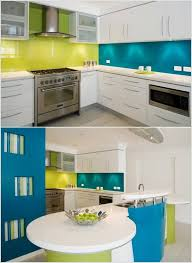 design your kitchen with a cool color scheme