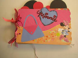 minnie mouse photo album a minnie mouse mini memories scrapbooking or by scrappantry on zibbet
