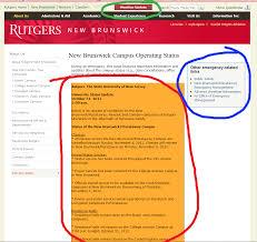 Rutgers Resume Guest Blog Rutgers Gets An U201ca U201d On Hurricane Sandy Crisis