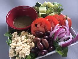 vegan feta cheese and greek salad dressing