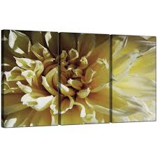 Living Room Art Sets Flower Canvas Art Set Of 3 For Your Living Room