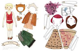mollymoocrafts paper dolls and printables for kids