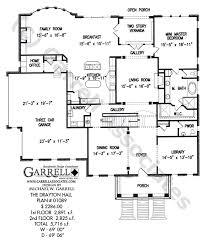 classic floor plans drayton hall house plan house plans by garrell associates inc