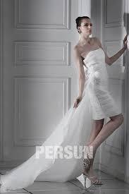 robe de mariã e traine robe de mariée plage fourreau colonne sans bretelle longue aux