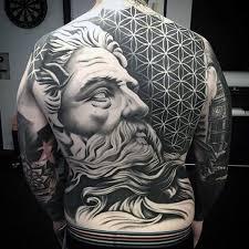 tattoo back face 50 amazing full back tattoos
