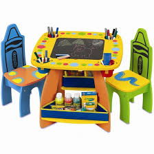 crayola table and chairs crayola wooden table and chair set table ideas