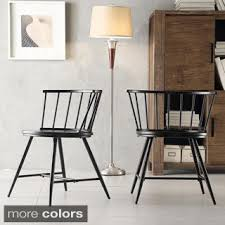 Dining Chair Deals Contemporary Retro Molded Style Woven Fabric Slope Side Plastic