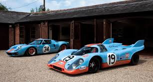 porsche prototype race cars gulf racing cars the rofgo collection youtube