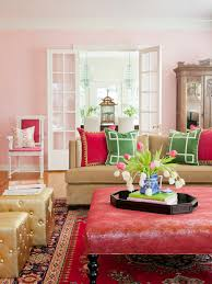 Color Theory And Living Room Design HGTV - Pink living room design