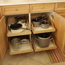 kitchen cabinet shelving ideas cabinets will pull out drawers for easy access to pots pans