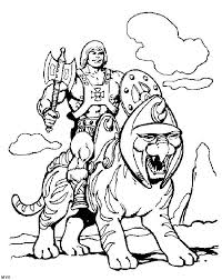 He Man Coloring Pages Inofations For Your Design 80s Coloring Pages