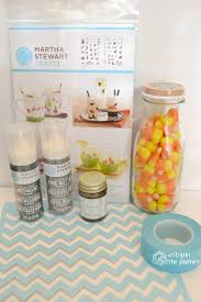 halloween treat jars with martha stewart crafts