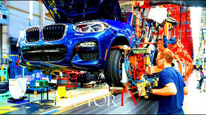 bmw factory assembly line car factory all new 2018 bmw x3 u0026 2017 x4 production l assembly